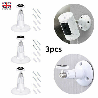 3x Wall Mount Bracket For Ring Stick Up Cam Wired/Battery HD Security Camera UK • 5.74£