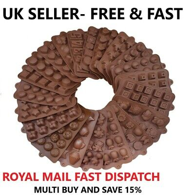 £3.25 • Buy 3D Silicone Cake Chocolate Mold Easter Valentine Mould Wax Melt Candle Jelly Ice