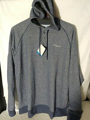 $25 • Buy New Columbia Hoodie Sweater Mens Size: X-Large 3 Button Hooded Sweatshirt