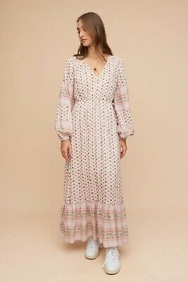 AU125 • Buy Tigerlily SOLD OUT Rare Long Sleeve Maxi Dress Size 8