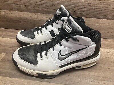 $ CDN44.05 • Buy VINTAGE Nike Air Battlegrounds Mens Black And White Shoes 308637-101 Size 10.5