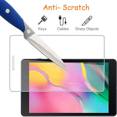 £3.99 • Buy Tempered Glass Screen Protector For Samsung Galaxy Tab A 8.0 2019 T290 T295