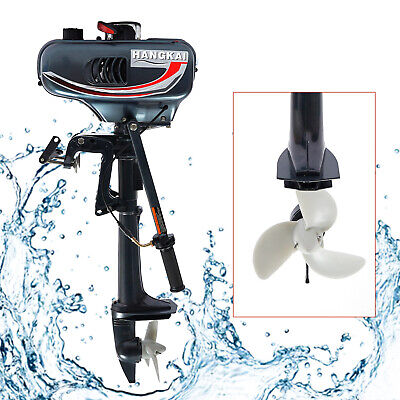 AU298 • Buy 2 Stroke 3.5 HP Outboard Motor Fishing Boat Engine Water Cooling CDI 10km/h AU