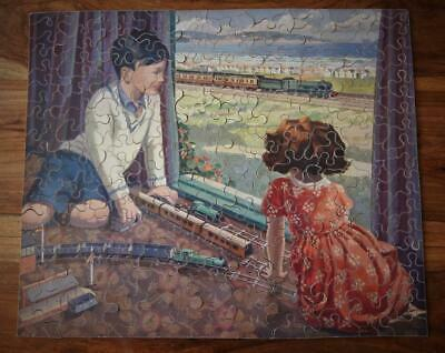 £229.99 • Buy CHAD VALLEY G.W.R VERY RARE WOODEN JIGSAW 'THE MODEL RAILWAY' 1934-38 200pc
