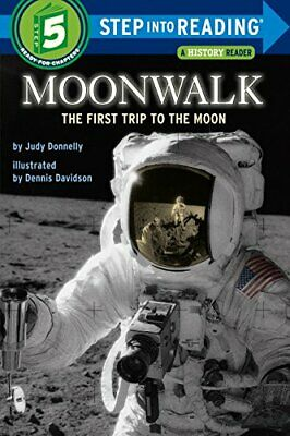 £6.33 • Buy Moonwalk (Step Into Reading) By Judy Donnelly New Book