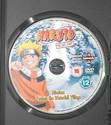 £1.50 • Buy NARUTO The LOST STORY - Mission Protect The Waterfall Village DVD DISC ONLY