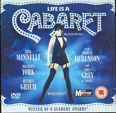 Life Is A CABARET - Liza Minelli, Michael York - DVD • 1£
