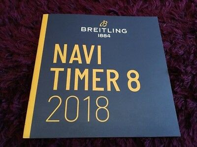 £5.99 • Buy Breitling Navitimer 8 Watch Catalogue 2018 - UK Issue