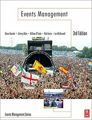 £46.03 • Buy Events Management By Glenn A. J. Bowdin New Book