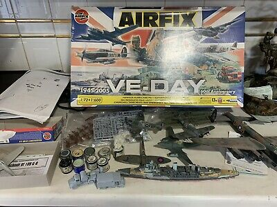£27.99 • Buy Airfix VE-Day 60th Anniversary Collection 1:72 Scale Spares Or Repairs