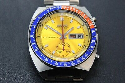 $ CDN1213.14 • Buy Seiko Pogue 6139-6002 Yellow Gold Water70m Resist Dial Full Length  H-links