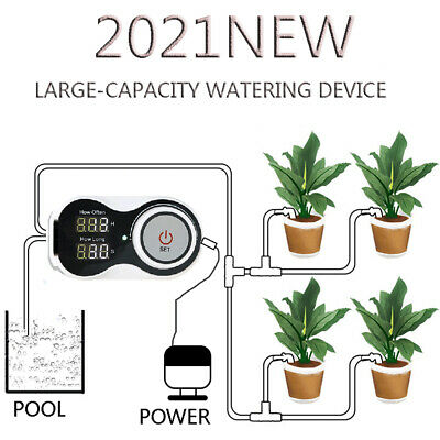 £29.99 • Buy Intelligent Drip Irrigation System Set Water Pump Automatic WateringDevice Timer