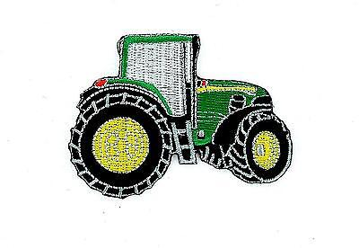 AU4.78 • Buy Patch Embroidered Thermoadhesive Backpack Biker Tractor Farm