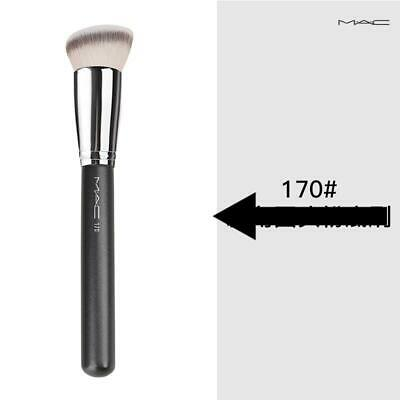 $10.68 • Buy MAC170 Synthetic Rounded Slant Foundation Brush For With A Smooth Even Finish