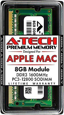 $32.75 • Buy 8GB 1600 MHz Memory RAM For APPLE MACBOOK PRO Mid 2012 A1286 MD103LL/A MD104LL/A