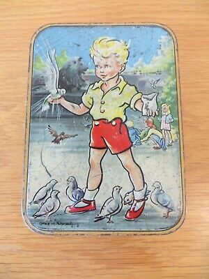 Vintage Advertising Confectionery Sweet Tin - Edward Sharp & Sons • 11£