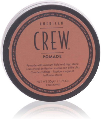 £8.04 • Buy American Crew Pomade, 1.75 Oz, Smooth Control With High Shine