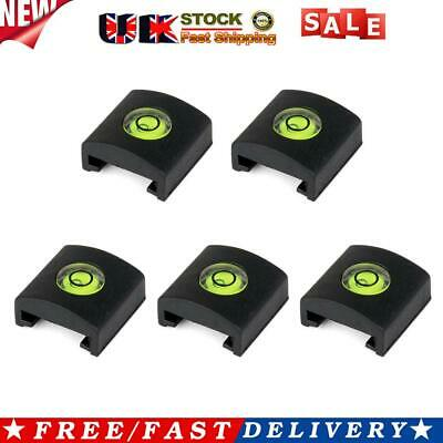 £4.83 • Buy 5pcs/set Camera Bubble Level Silicone Hot Shoe Cover With Spirit Level