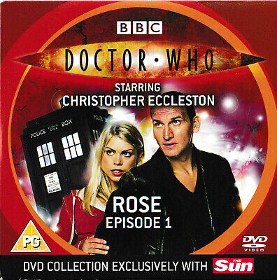 £0.99 • Buy Doctor Who: Rose Dvd. Part 1. Vgc. Free Post. Newspaper Promo Disc.