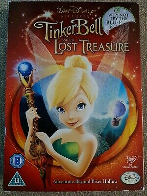 £0.99 • Buy Tinker Bell And The Lost Treasure (DVD, 2009)
