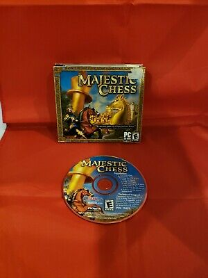 $16 • Buy Majestic Chess (PC, 2003), Windows 98/ME/2000/XP Clean Disc CD-ROM GAME