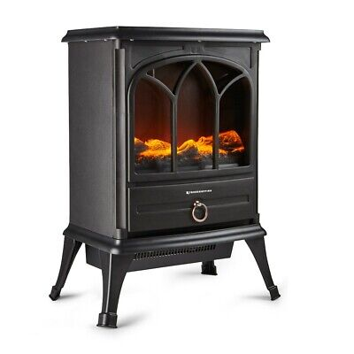 £75.49 • Buy Freestanding 1800W Electric Stove Heater Fireplace With Wood Burning Effect