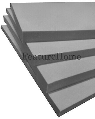 £0.99 • Buy Top Selling Grey Upholstery Foam - Custom Sizes Available - MESSAGE TO SELLER