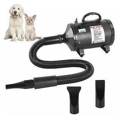 £59.99 • Buy 2800W Pet Hair Dryer Blower Dog Cat Blaster Dryer Grooming With 3 Nozzle