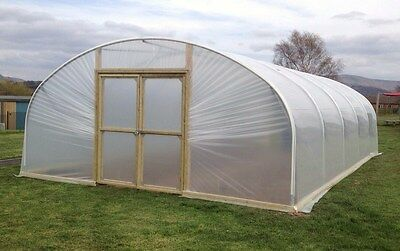 £1427 • Buy 18ft Wide Polytunnel Greenhouse, Commercial Poly Tunnel From Premier Polytunnels