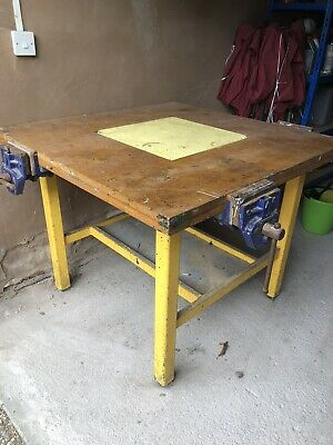 £200 • Buy Woodwork Bench With 3 Record Vices