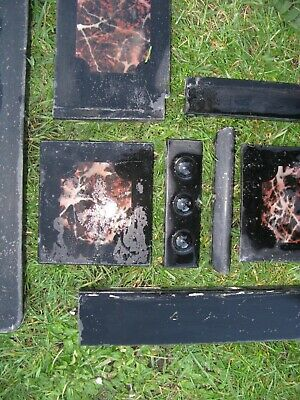 £80 • Buy Victorian Black Slate Fire Surround And Mantel.