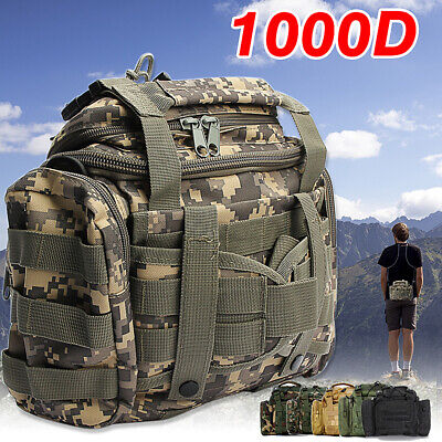 AU37.99 • Buy Fishing Tackle Bags Pack Shoulder Waist Waterproof Box Reel Lure Gears Storages