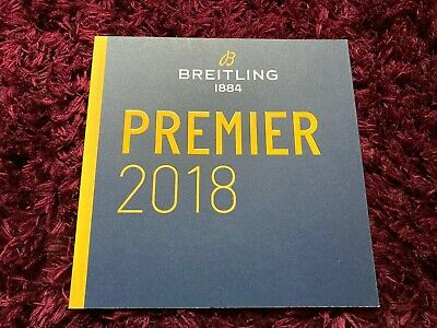 £7.99 • Buy Breitling Premier 2018 Watch Catalogue 2019 - UK Issue