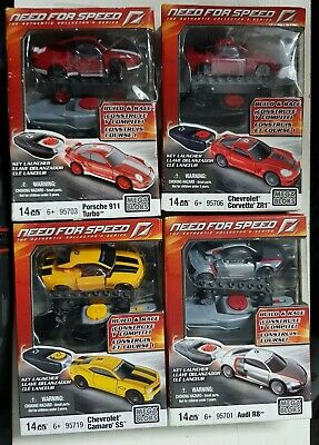 £30 • Buy Mega Bloks - Need For Speed Cars - Collection Of 4    Retired Out Of Production
