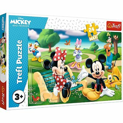 £9.99 • Buy Trefl 24 Maxi Piece Kids Large Mickey Mouse With Friends Jigsaw Puzzle NEW