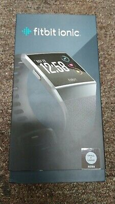 $ CDN151 • Buy Fitbit Ionic Bluetooth Activity Tracker - Charcoal/Smoke Grey, One Size (FB503GY