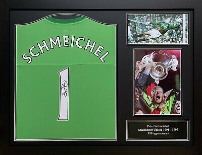 £299.99 • Buy Framed Peter Schmeichel Signed Manchester United Goalkeeper With Shirt & Proof