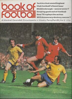 £3.50 • Buy Book Of Football Marshall Cavendish 1972 Part 25 The Clubs: Middlesbrough