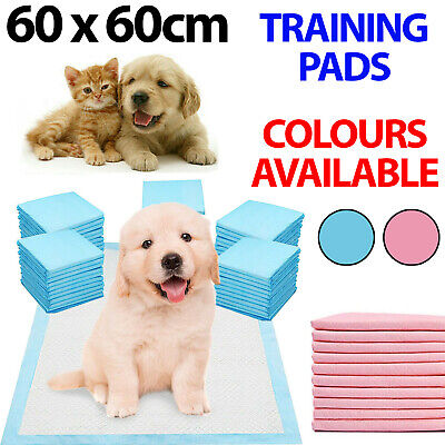 £9.95 • Buy HEAVY DUTY DOG PUPPY LARGE TRAINING WEE WEE PADS PAD FLOOR TOILET MATS 60 X 60cm