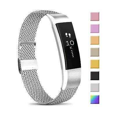 $ CDN18.14 • Buy Meliya Metal Loop Bands Compatible With Fitbit Alta/Fitbit Alta HR, Stainless...