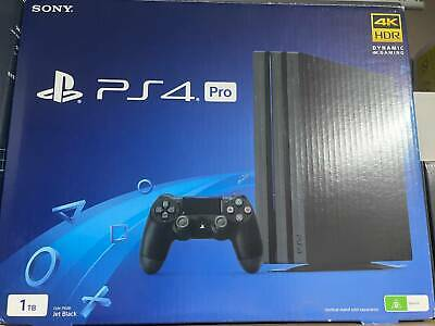 AU395 • Buy Sony PS4 Pro 1TB With 4 Games 2 Controllers