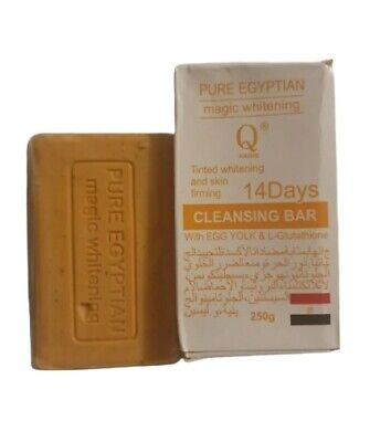 £9.50 • Buy Pure Egyptian Magic Skin Whitening+firming Soap With Egg & L-gluthatione (250g)