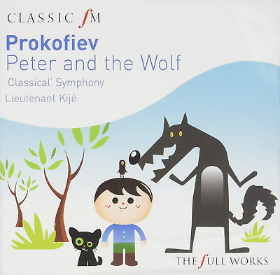 £18.84 • Buy Prokofiev: Peter And The Wolf