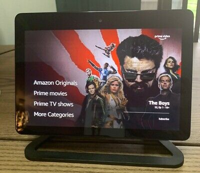 """AU268 • Buy Amazon Echo Show (2nd Gen) - Premium Sound And A Vibrant 10"""" HD Screen + Stand"""
