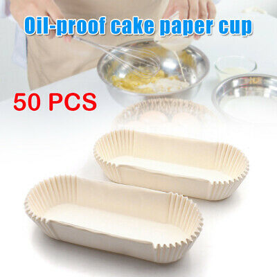 £4.68 • Buy 50x Non-Stick Cake Grease Proof Round Paper Cake Tin Liner Bread Baking Parchmet