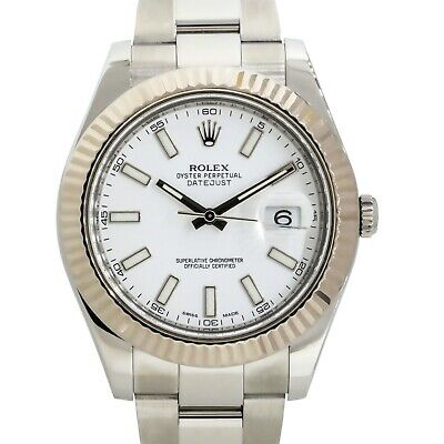 $ CDN12010.19 • Buy Rolex 116334 Datejust II Stainless Steel White Dial Watch