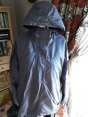 PETER STORM PURPLE HOODED MAC JACKET SIZE 16 Vgc As Shown  • 4.99£