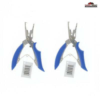AU23.12 • Buy (2) Mustad Braid Cutters With Split Ring Pliers ~ NEW