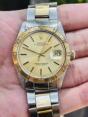 AU5795.61 • Buy Rolex Datejust Thunderbird Vintage Ref. 1625 14k/ss Mens Dress Watch!!!