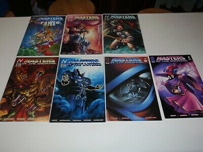 $49.36 • Buy Masters Of The Universe #1 2 3 4 5 7 8 MVCreations / Image 2004 Comic Lot